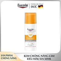 Kem Chống Nắng Làm Đều Màu Da Eucerin Sun Cream Face Tinted CC Cream SPF50+ 50ml (Tông Màu Da Tự Nhiên)