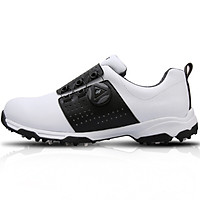 Giày Golf Nam - PGM Men Microfibre Auto-Lacing Golf Shoes - XZ096 - Trắng Đen