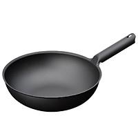 Chảo wok màu đen Unilloy - 31cm