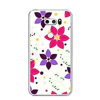 Ốp lưng dẻo cho điện thoại LG V30 - 0002 FLOWER10 - Hàng Chính Hãng