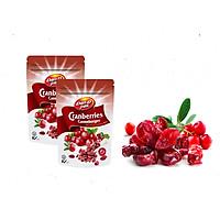 COMBO 2 BỊCH Nam việt quất khô nhập khẩu Canada - dried cranberry Dan.D.Pak 150g,không chất bảo quản,giải độc tố trong cơ thể,làm đẹp da,là liều thuốc hữu hiệu để hạn chế nguy cơ bị ung thư, đột quỵ, nhiễm virus, bệnh tim và bệnh nhiễm trùng men.