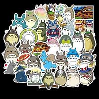 Bộ 50 miếng Sticker hình dán Totoro SetB