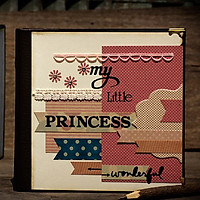 Scrapbook My Little Princess (20 x 20 cm)