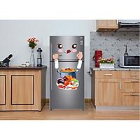 Decal trang trí tủ lạnh số 13