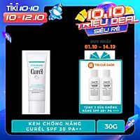 UV Kem Chống Nắng Curel UV Protection Face Cream SPF 30 PA++ (30g)