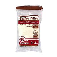 Set 80 túi giấy lọc trà, cà phê nội địa Nhật Bản