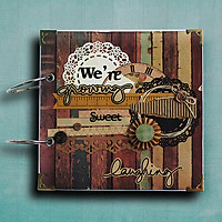 Scrapbook Cao Cấp Vintage We're Growing