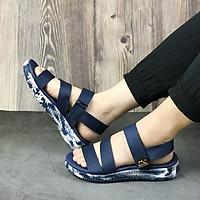 Giày sandal nam siêu nhẹ hiệu MOL thích hợp mang đi học MS2Ch2
