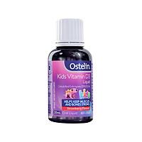 Siro uống bổ sung vitamin cho bé Australia Ostelin Vitamin D Liquid Kids - 20ml