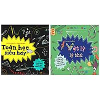 Combo Cool Series: Toán Học Siêu Hay + Vật Lý Lí Thú (Bộ Sách Hay Nhất Về Khám Phá Khoa Học - Tặng Kèm Bookmark Happy Life)