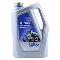 Nhớt Động Cơ AISIN ECSF2054P 20W-50 CF4 / SG Semi Synthetic (4L)