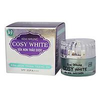 Kem giảm mụn-thâm-trắng da-mờ sẹo-giảm nhờn-làm dịu da sữa non thro dược Cosy White A9 18g