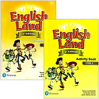 English Land (2nd Edition) Level 2: Student Book + Activity Book With CDs