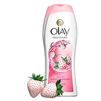 Sữa tắm dưỡng ẩm Olay dâu & bạc hà 650ml