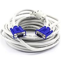 Dây VGA trắng loại 30m - 40m - 50m