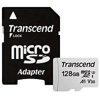 Thẻ Nhớ Micro SD Premium Transcend 128GB Class 10 -95MB - Hàng chính hãng