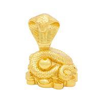 Tượng Rắn phong thủy mạ vàng - Linh vật cho người tuổi Tỵ