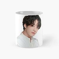 Cốc sứ BTS in hình Jungkook cốc uống nước