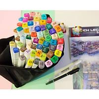 Bút Marker Touchliit 6 - Bộ 30 màu+ Set da 12 cây