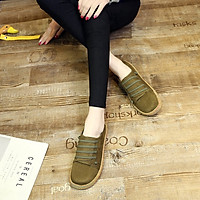 Giày Búp Bê Da Lộn Thời Trang Hàn Cho Nữ (Size 35-42)