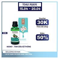 [50ml] Tinh dầu Gỗ Thông NOOKY 100% Thiên Nhiên - TORO FARM