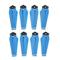 4 Pairs Drone Quick Release Propeller Paddle  For DJI Mavic Pro Blue