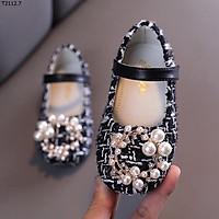 Giày Búp Bê Công Chúa Đính Ngọc Bé Gái