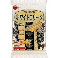 Combo 3 gói Bánh que Bourbon Whiterollita vị Kem 98gr (14 bánh)