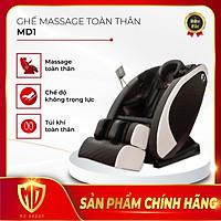 Ghế Massage Toàn Thân Chuyên Sâu MDGroup MD01 - Full tính năng Massage Body mới nhất hiện nay