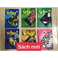 Combo06 cuốn: WHO? Chuyện kể về danh nhân thế giới: Lionel Messi, Pele, Michael Jordan, Usain Bolt, Michael Jackson, K-pop Twice