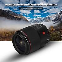 YONGNUO YN35mm F1.4C DF UWM Động cơ sóng siêu âm Góc rộng Ống kính chính Tự động lấy nét bằng tay Nâng cấp USB Tương thích với Máy ảnh DSLR Canon
