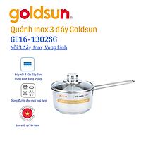 Quánh Inox Goldsun GE16-1302SG - Hàng chính hãng