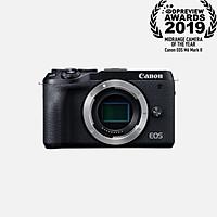 Máy ảnh Canon EOS M6 MK II(BK)Thân Máy-Màu đen-Màu Bạc (Lê Bảo Minh) - Hàng Chính Hãng