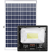 Đèn LED Năng Lượng Mặt Trời 100W | Chính hãng JINDIAN | [Model 2020]