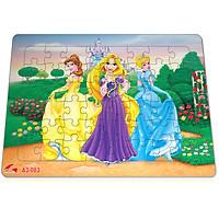 Xếp hình Tia Sáng Công chúa cổ tích  (48 Mảnh Ghép) - Tặng kèm câu đố mặt sau cho bé
