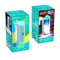 Loa Không Dây BOROFONE BR5, Bluetooth 5.0, Nghe Nhạc, gọi điện, FM, hỗ trợ thẻ nhớ, USB - Hàng Chính Hãng