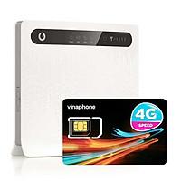 Huawei B593 | Thiết bị phát wifi 3G/4G Chuẩn LTE Tốc độ cao + Sim 4G Vinaphone | khuyến Mãi 60GB/Tháng - Hàng nhập khẩu