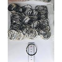 100 khoen tròn các loại dùng làm flashcard. Khoen 4 cm (đường kính trong 4 cm, đường kính ngoài 4.5 cm)