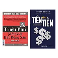 Combo sách kinh tế: Tiền Đẻ Ra Tiền: Đầu Tư Tài Chính Thông Minh + Triệu Phú Môi Giới Bất Động Sản
