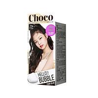 Korea MiseenScene HELLO BUBBLE Easy Self Hair Dyeing Dark Choco Turn Color