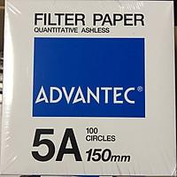 Giấy lọc định lượng số 5A, đường kính 150mm