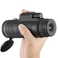 Monocular Telescope 40x60 High Power HD Compact Monocular for Adults Kids Waterproof Low Night Vision Scope BAK4 Prism