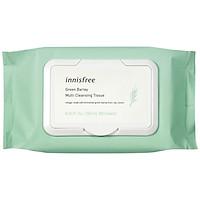 Khăn Ướt Tẩy Trang Đa Năng Hương Lúa Mạch Innisfree Green Barley Cleansing Tissue (50 Tờ) - 131170963