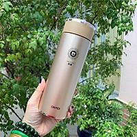 Bình giữ nhiệt 360ml có lõi lọc trà tặng túi ( hàng cao cấp )