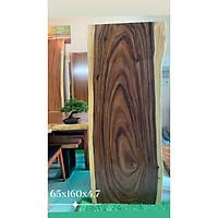 Mặt bàn gỗ me tây nguyên tấm tự nhiên KT 65x160x4.7cm