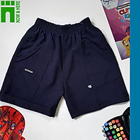 Quần đồng phục học sinh nam từ 15kg đến gần 90kg - Quần short đồng phục màu XANH ĐEN - NH SHOP