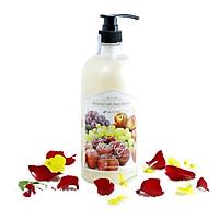 Sữa tắm tinh chất hương trái cây tổng hợp 3W CLINIC Hàn Quốc 1000ml