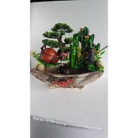 Thác Nước Phong Thủy Tiểu Cảnh - Tranng Trí Nhà Cửa, Biếu Tặng