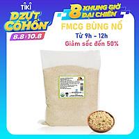 Hạt Quinoa (Diêm Mạch) Trắng Smile Nuts Túi 5kg - Sản phẩm hữu cơ được nhập khẩu từ Peru (Túi Quinoa 5kg giá tốt hơn, tiết kiệm hơn)