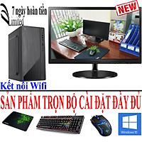 Bộ máy tính để bàn VLimited Văn Phòng, Học tập Intel H81/G3220/4G/SSD sản phẩm trọn bộ - Hàng chính hãng -